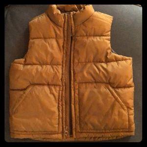 Boy winter vest